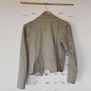 Uterque Jackets & Coats - Uterque tan suede jacket